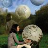 Brigitte Kohl – These's art / tete a tete avec la science – Place Sathonay, Lyon – les 3 et 4 octobre 2015